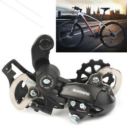 7s 8s Speed MTB Bicycle Rear Derailleur Bike Part Black For Tourney TX35 Model $13.95