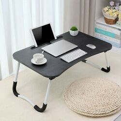 Large Bed Tray Foldable Portable Multifunction Laptop Desk Lazy Laptop Table New $20.98