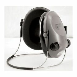 3M Peltor Electronic Tactical 6S Earmuff Gray NRR 19 Behind the Head Stereo $75.60