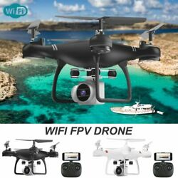 HJ14W Airplane Selfie Mini RC Quadcopter WIFI Drone Remote Helicopter Foldable $63.07