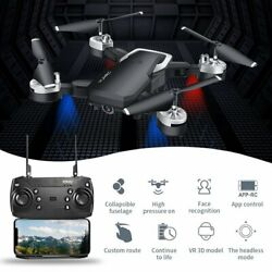 HJ28 5.0MP 1080P Camera Wifi FPV Foldable 6 Axis RC Quadcopter Foldable Drone $55.54