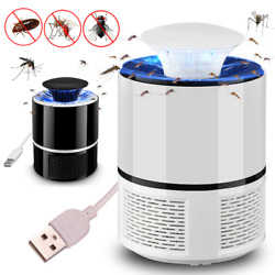 Electric Mosquito Killer UV Lamp Zapper Insect Bugs Trap Fly Pest Control USB $9.99