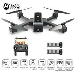 Holy Stone HS550 GPS drone 2K camera brushless foldable 5G WiFi FPV quadcopter $199.99