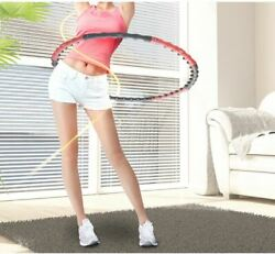 Hula Hoop Professional Weighted Air Cushion Fitness Exercise Massage  K-Beauty $52.00