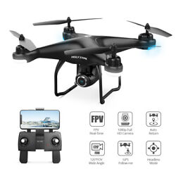 Holy Stone HS120D GPS RC selfie drone with camera FPV return to home live video $159.98