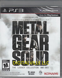Metal Gear Solid The Legacy Collection PS3 Brand New Sealed PlayStation MGS $28.79