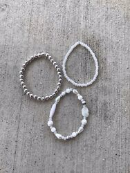 Handmade Frosted Snow Set $8.50