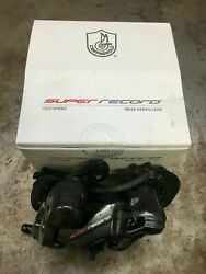 Campagnolo Super Record Rear Derailleur - 12 Speed Carbon with Ceramic Bearing  $359.99