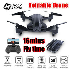 Holy Stone HQ912 FPV Drone with 1080P HD Camera GPS Wifi 5G Foldable RC Quad $99.99