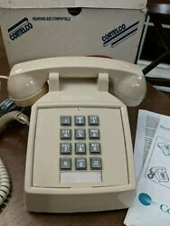 Traditional Desk Phone Vintage Cortelco 250044 MBA 20M Made in USA Works $40.00