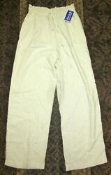 HARRISWALLACE WOMEN'S BEACH PANTS SIZE MEDIUM - NEW WITH TAGS! $14.99