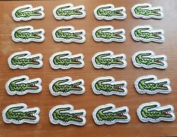 Lacoste 20 Patch Lot NEW Iron On  $11.99