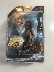 Pirates Caribbean Jack Sparrow Action Figure 2011 Fast Shipping $14.65