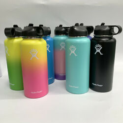 Hydro Flask Wide Mouth Stainless Steel Bottle With Cap Multicolor 3240oz $24.99