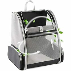 Innovative Traveler Bubble Backpack Pet Carriers For Cats And Dogs Grey $40.00