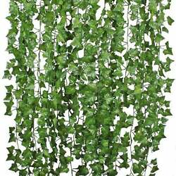 Fake Ivy Leaves 6pk. Artificial Greenery vines for decor room decor garland $9.99