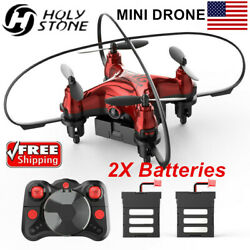 Holy Stone Mini Drone with 2 Batteries 3D Flips Headless RC Quadcopter for Kids $5.50