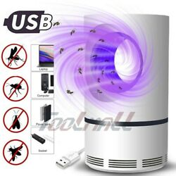 USB Electric Photocatalytic Mosquito Killer Lamp Light Non-Toxic UV Insect Trap $17.89