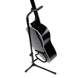 Tubular Acoustic/Electric Bass Guitar Stand Holder Foldable Metal Stand Durable $15.95