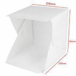 USA Light Room Photo Studio Photography Lighting Tent Kit Backdrop Cube Mini Box $3.99