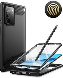 For Samsung Galaxy Note20 Ultra Clayco Case Built-in 3D Curved Screen Protector $19.99