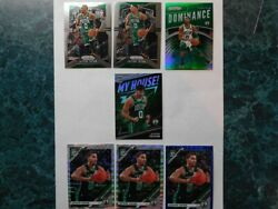 Jayson Tatum Lot Of 7 Prizm/Optic 2019-2020 Inserts And Base open to offers!! $35.00