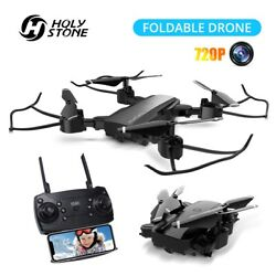 Holy Stone YC-006 Mini Drone With 720P HD Wifi FPV Camera Foldable RC Quadcopter $6.99