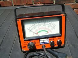 Vintage 70s DELCO Engine tune-up tester meter auto service gm street rat hot rod $152.50