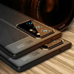 For Samsung S21 Note20 A32 A42 A52 A12 Case Shockproof Leather Soft Rubber Cover $8.85