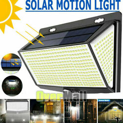 Outdoor Commercial 18 LED Solar Power Street Light Waterproof Dusk to Dawn Lamp