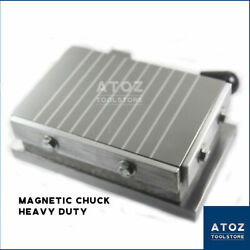 Rectangular Magnetic Chuck Table Permanent Cross Poles $170.00