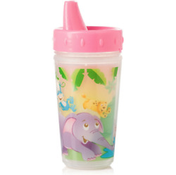 Evenflo Zoo Friends Insulated Sippy Cup 9m Pink 10 oz 6429912 $10.99