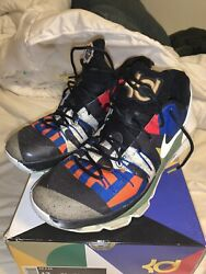 KD 8 'All Star' Size 13 US Men's Multicolor *ALL PATCHES INCLUDED* **WITH BOX** $74.99