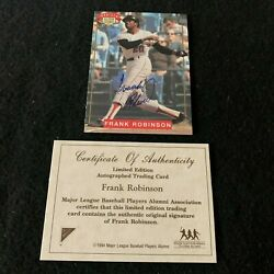1994 Nabisco All Star Legends Frank Robinson LMTD ED. Certified Autograph Card $10.00