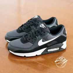Nike Air Max 90 Iron Grey White Smoke Grey Running Shoe Men CN8490 002 $119.97