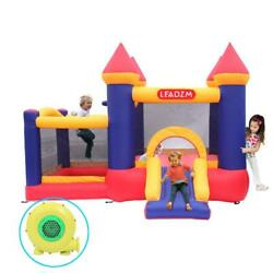 Inflatable Bounce House Kids Child Slide Jump Bouncer Castle with Air Blower $169.95