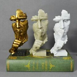 Home Modern Decorations Silent Thinking Human Abstract Resin Statue Figurines $56.99