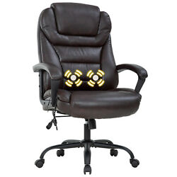 Big and Tall 500lbs Wide Seat Ergonomic Desk Chair with Lumbar Support Arms $179.99