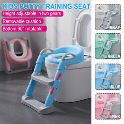 Kids Portable Potty Training Seat w Step For Toddler Infant Baby Safety No Slip $30.75