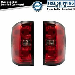 Tail Light Lamp Assembly Pair LH RH Left Right Sides for Silverado Pickup Truck $124.95
