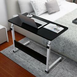 Home Office Desk Can Be Lifted And Lowered Mobile Computer Desk Bedside Table $39.99