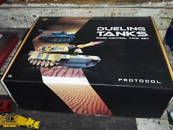 Protocol dueling tanks RC mint in box $65.00