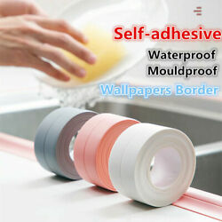 3D Waterproof Mouldproof Wall Border Wall Paper Sticker Self adhesive Kitchen $6.79