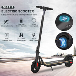 🛴FOLDING ELECTRIC SCOOTER 7.5AH BATT ADULT KICK E SCOOTER SAFE URBAN COMMUTER🛴 $248.76