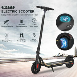 🛴FOLDING ELECTRIC SCOOTER 7.5AH BATT ADULT KICK E SCOOTER SAFE URBAN COMMUTER🛴 $267.75