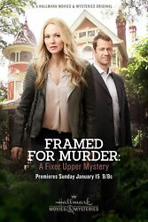 243993 Framed For Murder A Fixer Upper Mystery Movie WALL PRINT POSTER US $13.95