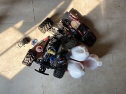 Earthquake 3.5 Rc Nitro With Starter Kit And 2 Gallons Of Nitro Fuel $350.00
