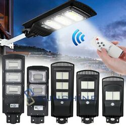 9000000LM Commercial LED Solar Street Light PIR Radar SensorRemotePole 150W