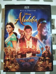 Aladdin DVD Live Action Brand New 2019 Will Smith Disney Movie Musical Comedy $8.50