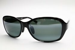 Maui Jim Sunglasses MJ 433 11T Koki Beach Black Frame Gray Polarized Lenses B